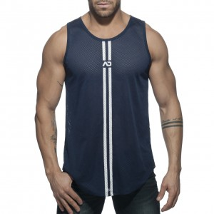AD671 DOUBLE STRIPE TANK TOP