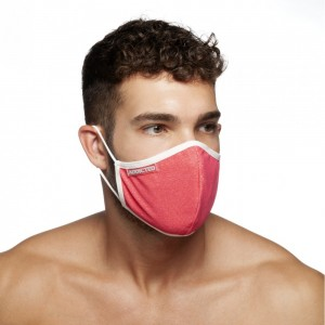 AC113 RED STRIPES MASK