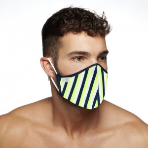 AC112 VERTICAL STRIPES MASK