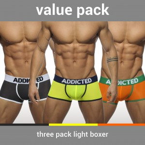 AD403P - 3 PACK LIGHT BOXER