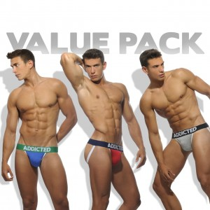AD363P - THREE PACK BASIC JOCKSTRAP
