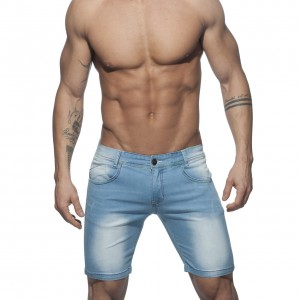 AD637 RAINBOW SHORT JEANS